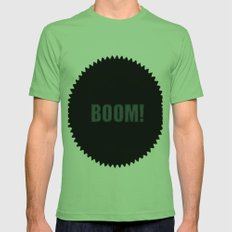 Boom Mens Fitted Tee Grass SMALL