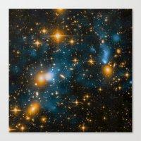 Cosmos 2, When Stars Col… Canvas Print
