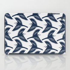 White Wagtails Pattern iPad Case