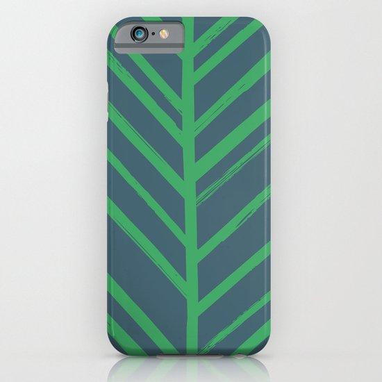 Painted Herringbone - in Emerald iPhone & iPod Case