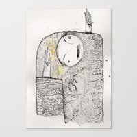unquestioning faith of a story we heard as children, exit we Canvas Print