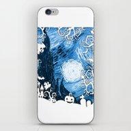 Halloween In Starry Nigh… iPhone & iPod Skin
