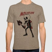 Molotov Mens Fitted Tee Tri-Coffee SMALL