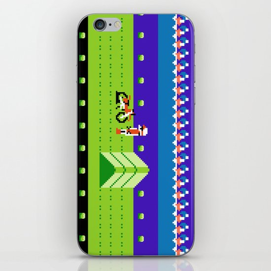 Punctured Bike iPhone & iPod Skin