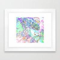 spec vertebraeyes Framed Art Print