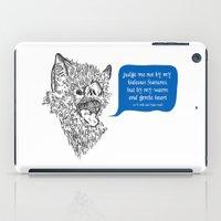 A Beast's Beseechment iPad Case