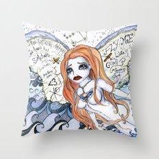 #75 Dangerous D. Throw Pillow