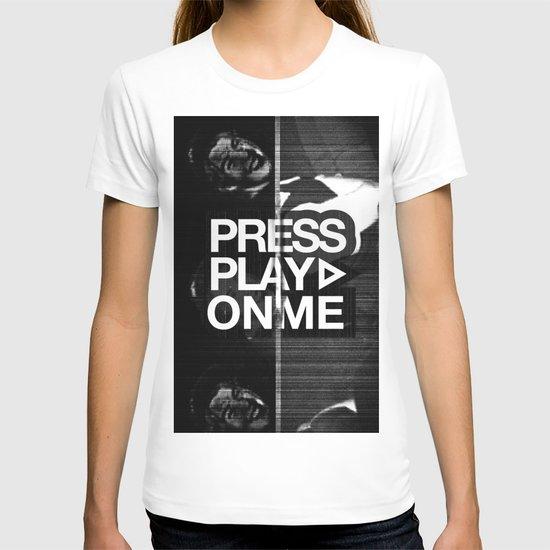Pressplayonme T-shirt