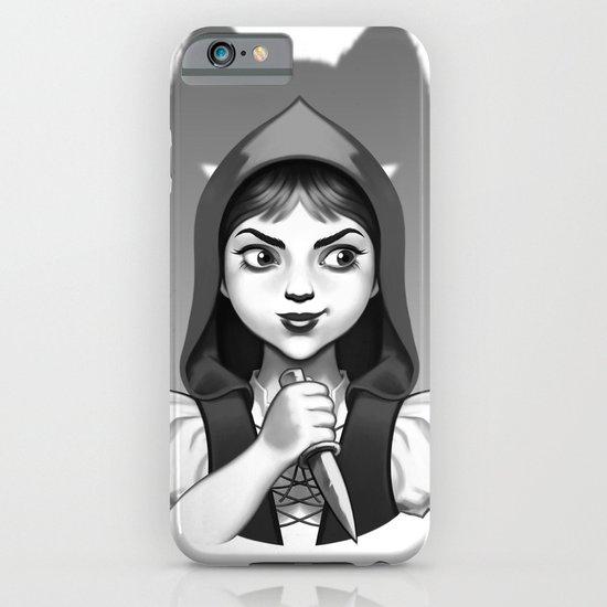 Little Red Riding Hood's Surprise iPhone & iPod Case