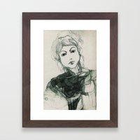 Ritratto Immaginario Framed Art Print