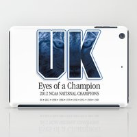 Eyes of a Champion iPad Case