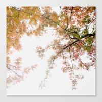 Autumn Origami Canvas Print