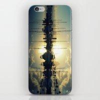 marina morning iPhone & iPod Skin