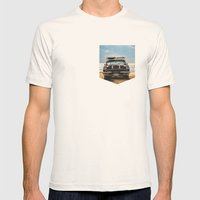 Surf's Up Sauble Mens Fitted Tee Natural SMALL