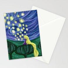 Impressionist Lanterns Stationery Cards