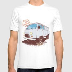 UAZ 452 Mens Fitted Tee White SMALL