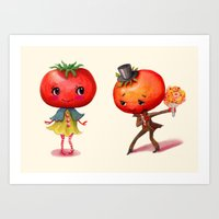Tomato Tomato Art Print