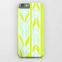 Stripes: Yellow & Pale B… iPhone 6 Slim Case