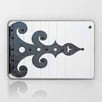 Black on White Laptop & iPad Skin