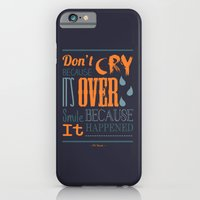iPhone & iPod Case featuring Dr. Seuss Quote  by Robert Woods