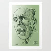 Techno Terror Art Print