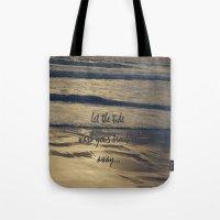 Golden Tide Tote Bag