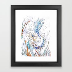 Sirène Framed Art Print