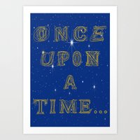 Fairy Tale Beginnings Art Print