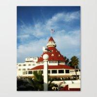 Hotel Del Coronado Canvas Print