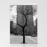 Tree in Madrid Stationery Cards