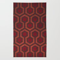 Rug featuring The Shining Rug & Room 2… by Justin Cybulski