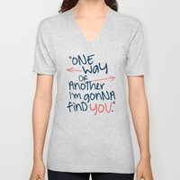 One Way Or Another Unisex V-Neck