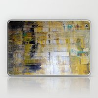 YELLOW SCRAPE Laptop & iPad Skin