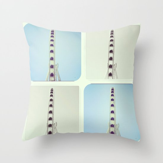 Seattle Dreaming Throw Pillow
