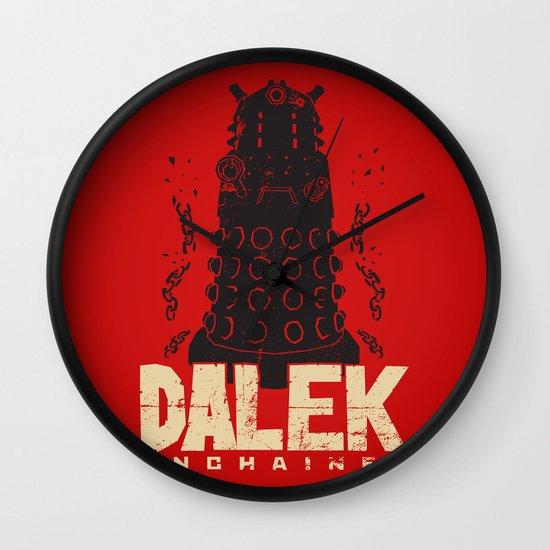 Dalek Unchained Wall Clock