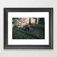 Throe Framed Art Print