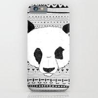 iPhone & iPod Case featuring PANDA PATT! by James Docherty