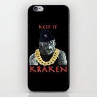 KEEP IT KRAKEN iPhone & iPod Skin