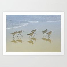 When the saints go marching in Art Print