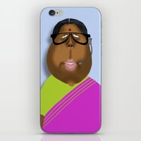Mrs Curry iPhone & iPod Skin