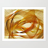 Autumn Indecision Art Print