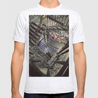 Tacheles Mens Fitted Tee Ash Grey SMALL