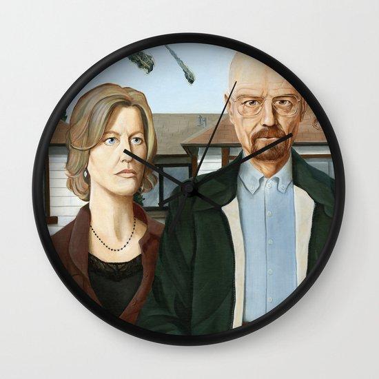 The Heisenbergs Wall Clock