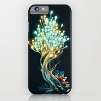 iPhone Cases featuring ElectriciTree by Budi Kwan