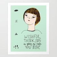 Wishful Thinking... Art Print