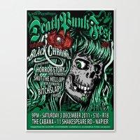 Deathpunkfest 2011 Canvas Print