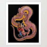 Dragon2 Art Print