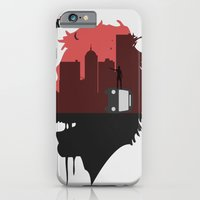 walking dead iPhone & iPod Cases featuring Walking Dead by SirGabi