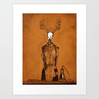 DressForm Deer #1  Art Print