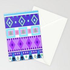Winter Patterns Stationery Cards